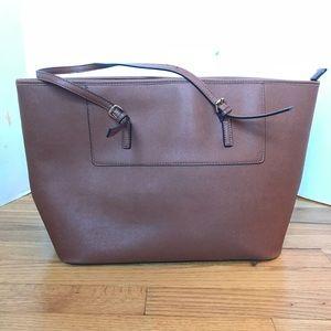 Aldo Brown Large Tote Bag